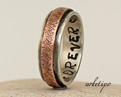 Hey, I found this really awesome Etsy listing at https://www.etsy.com/listing/182419482/personalized-sterling-silver-and-copper