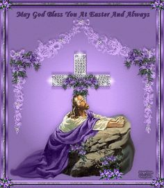 gif easter God Bless you gif | More gifts at links below: