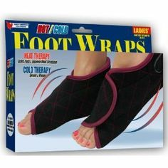 Hot / Cold Foot Wraps - Ladies by North American Healthcare. $15.18. Soothing Therapy For ? Arthritis ? Bursitis ? Sore & Tired Feet ? Everyday Stress ? And More