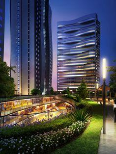 New Mixed-use Masterplan in Jiyuan, China