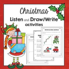 Listening Activity Winter  Activities Listening skills and