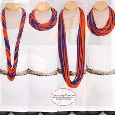 #versaloopcoutureaffinity #versaloopcouture VersaLoop Couture Navy Blue and Orange Combo Scarf. CALLING ALLL AUBURN WAR EAGLES  ORDER TODAY!!! $15.00  http://mkt.com/versaloop-couture-designs-and-accessories/vl-navy-blue-and-orange