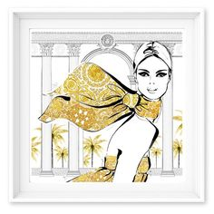 JUST IN! My new print collection: MAISON VERSACE - launched at the Palazzo…