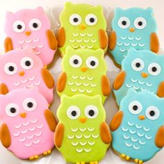 Owl cookies that fly in the sky