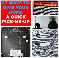 "diyncraftz: "" 27 DIY Ways To Give Your Home A Make Over Follow Us on Tumblr """