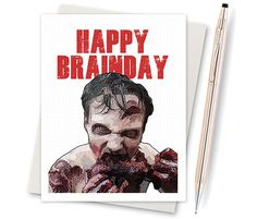 The Walking Dead  Adult Birthday  Birthday by InLivingColorStudios