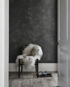 HappyModern.RU | Обои под бетон: очарование лофта в интерьере современной квартиры | http://happymodern.ru