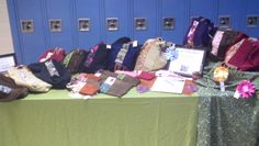 Virginia Bluebell Couture bags at a vending event! www.facebook.com/...