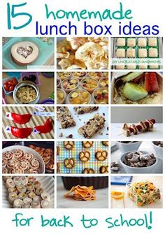 Creative School Lunch Ideas brought to you by the SmartShopper Grocery List Organizer.  Use the SmartShopper to compile and shop for your groceries.  www.smartshopperusa.com