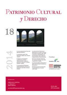 Patrimonio-Cultural y Derecho, nº 18  (2014). ISSN 1138-3074