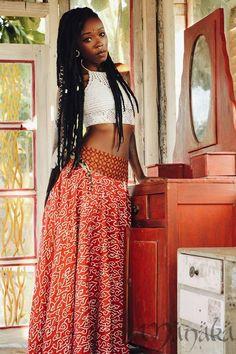 Bohemian Mode, Bohemian Style Clothing, Black Girl Fashion, Boho Fashion, Modest Fashion, Spring Fashion, Fashion Shoes, African Beauty, African Fashion