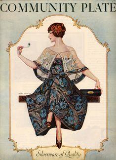 On Exhibit: Oneida Silverware Ads by Coles Phillips, 1911-1924 ...
