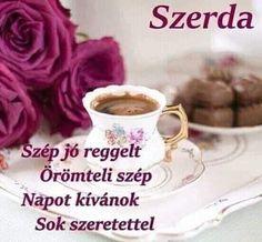 Tea Cups, Mugs, Tableware, Kitchen, Good Morning Friends, Dinnerware, Cooking, Tumblers, Tablewares
