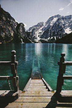 Prags lake, Italy