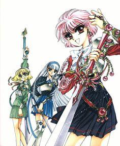 Lindas e sensuais. Manga Anime, Anime Art, Manga Artist, Comic Artist, Dreamworks, Chibi, Magic Knight Rayearth, Xxxholic, Cardcaptor Sakura