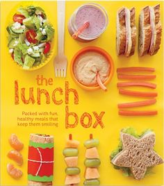 """Great """"out-of-the-box"""" ideas for school lunches!"""