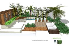 greencube garden and landscape design, UK: Are you making the most of your courtyard garden?