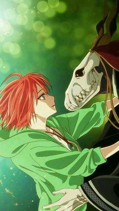 The Ancient Magus Bride Fanart Got Anime, Anime Love, Manga Anime, Anime Art, Spice And Wolf, Chise Hatori, Elias Ainsworth, Tamako Love Story, The Ancient Magus Bride