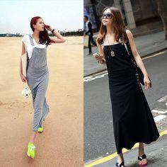 Повседневное Для женщин Летняя юбка на подтяжках Сарафан юбка длинная юбка без рукавов с поясом с капюшоном для женские, черный, серый цвета