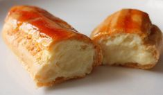 Comm'è amaro stu ppane: Bignè caramellati con crema diplomate