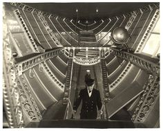 Photograph of the Rear Control Car of a Dirigible, ca. 1933 by The U.S. National Archives, via Flickr