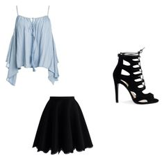 """Lina's outfit"" by ilovebranstark01 ❤ liked on Polyvore featuring Sans Souci and Chicwish"