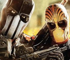 Army of Two.. It's Cory and I against the world! :)