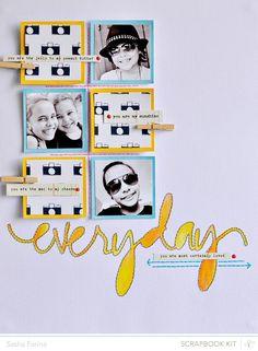 8.5X11 Scrapbook Layout   Scrapbooking Ideas   Scrapbook Page   Creative Scrapbooker Magazine #scrapbooking #8.5x11layout