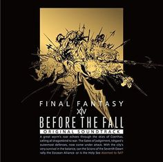 Before The Fall Final Fantasy 14 Original Soundtrack w/Music Video Blu-ray Music