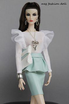 New Fashion Royalty 12' /FR2/ ''GLAM MINT''   Flickr - Photo Sharing!