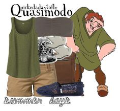 """Quasimodo"" by pickedadaytofly ❤ liked on Polyvore featuring Vince Camuto, Marc by Marc Jacobs, Fresh Made, TOMS, ONLY and Uniqlo"
