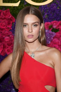 Josephine Skriver at the Bulgari Pre-Oscars party on February 25, 2017 in Los Angeles.