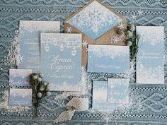 Blue Winter Wedding , Read more Real Winter Weddings | fabmood.com #winterwedding