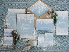 Blue Winter Wedding , Read more Real Winter Weddings | fabmood.com #winterwedding