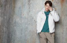 Kim Woo Bin, Rain Jacket, Windbreaker, Coat, Jackets, Fashion, Rain Gear, Down Jackets, Moda