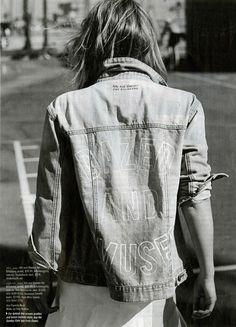 4th & Bleeker for Billabong 'Loved One' denim jacket