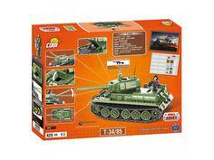 Stavebnica tanku T34/85 edícia World of Tanks