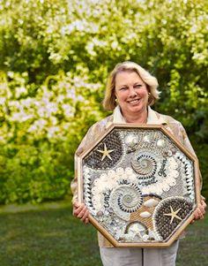 Sailors Valentines - Shell Artwork - Lynda Susan Hennigan - Country Living