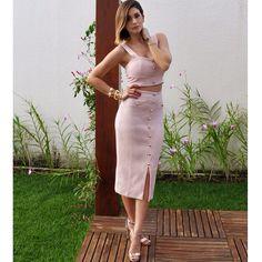 Rosè look @iorane para Lis et Lu w/ @lalu_lins  Sexy & chic! #lisetlu #powersummerlisetlu #iorane #inspiration #summer15 #ootd