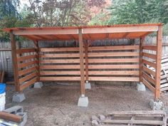 Shed DIY - My Shed Plans - Firewood storage shed I built in one day. Great airflow. - Now You Can Build ANY Shed In A Weekend Even If Youve Zero Woodworking Experience! Now You Can Build ANY Shed In A Weekend Even If You've Zero Woodworking Experience! #Freeplansforyourownshed