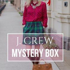 """J. CREW 🍁FALL🍂 Mystery Box Perfect mystery box for all the J. Crew addicts out there!!  I will provide a """"mystery box"""" which will contain 5 items from J. Crew (Retail) for your FALL wardrobe. They will be in excellent used condition. They will be a random combination of tops, skirts, pants or dresses. TELL ME YOUR SIZE below and I will make a separate listing.  NOTE: Returns for mystery packages are not supported by Poshmark. But if you don't love an item in the package, you can re-list it…"""