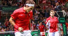 Roger Federer Secures Switzerland's Historic Davis Cup Win - http://www.tennisfrontier.com/news/davis-cup-tennis/roger-federer-secures-switzerlands-historic-davis-cup-win/