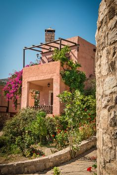 Axos Village in the Mountains of Crete Greece Rethymno Crete, Invisible Cities, Greek Isles, Sustainable Tourism, Crete Greece, Europe, Renting A House, Pergola, Outdoor Structures