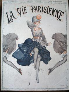 Chéri Hérouard (1881 – 1961). La Vie Parisienne, 26 Février 1916. [Pinned 31-vii-2015]