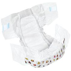 PK/18 - DryTime Clothlike Baby Diapers Size 5, 30-38 lbs.