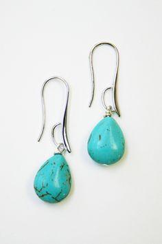 Daliso Silver Drop Earrings