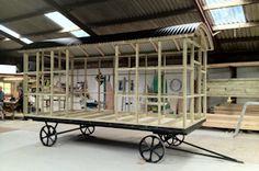 Self Build Shepherd Huts - Flat Pack Shepherd Hut Kits - Build Your Own Shepherd's Hut