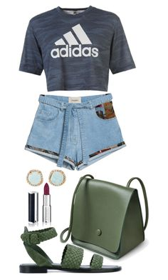 """""""Untitled #1749"""" by social-outcast-16 on Polyvore featuring adidas, Givenchy, Paul Andrew and Louise et Cie"""