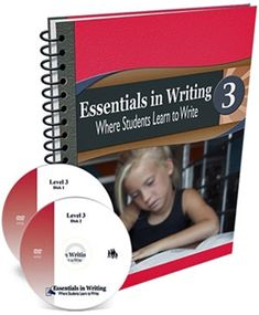 Essentials in Writing Level 3 Combo (DVDs + Workbook) In Writing, Writing Ideas, Essentials, Student, Writing Prompts
