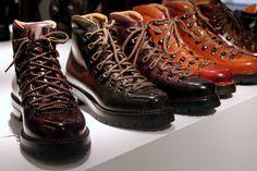Botas de hombre. Estilo hiking. Giacometti Marmolada. Invierno 2014.